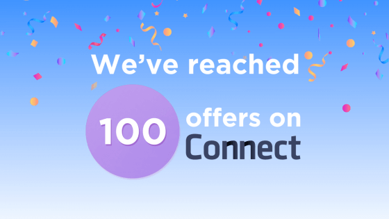 Connect Hits 100 Offers