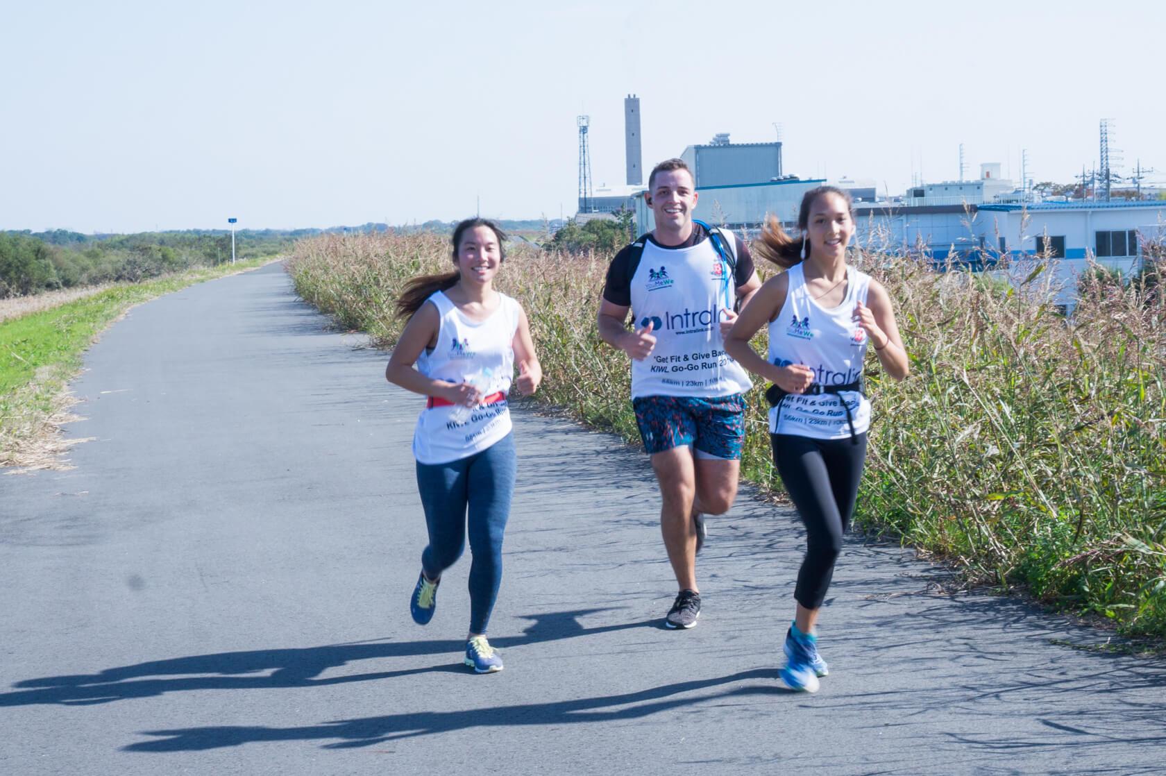 Go-Go Charity Run by KIWL
